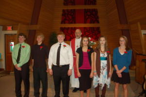 October Confirmands